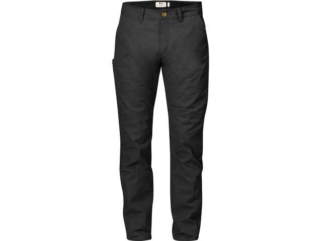 Fjällräven Sörmland Pantalones Cónicos Hombre, dark grey